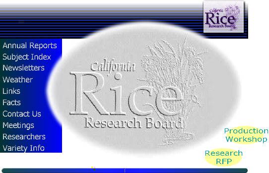 CA Rice Research Board